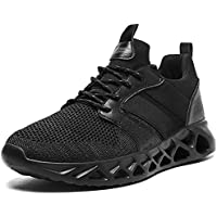 Linenghs Mens Running Tennis Athletic Sneakers