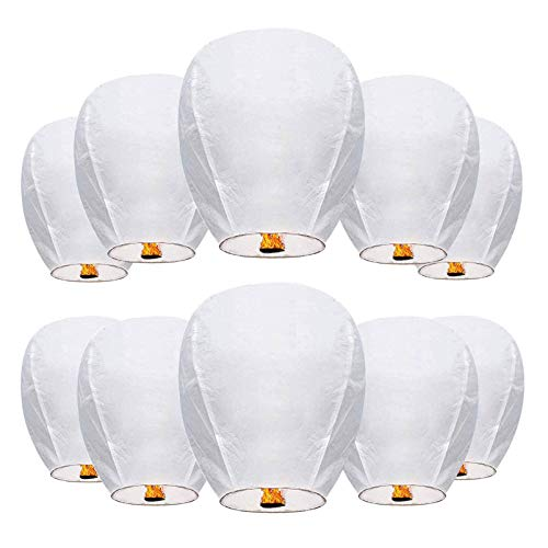 Chinese Wishing Lanterns 100% ECO Friendly Biodegradable Paper Sky Lanterns