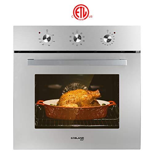 Single Wall Oven, GASLAND Chef ES609MS 24