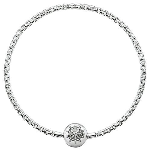 Thomas Sabo Karma Beads, Unisex, Bracciale, argento sterling 925