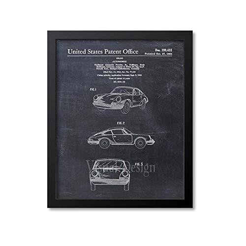 MG global Porsche 911 Carrera Patent Print - Porsche Patent Art Print - Coche - Auto - Automóvil