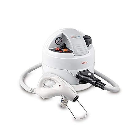 Polti Cimex Eradicator limpiador a vapor para la desinfestación natural sin insecticidas de las chinches de cama con vapor seco hasta 180°C°,2250 W, acero inoxidable, blanco