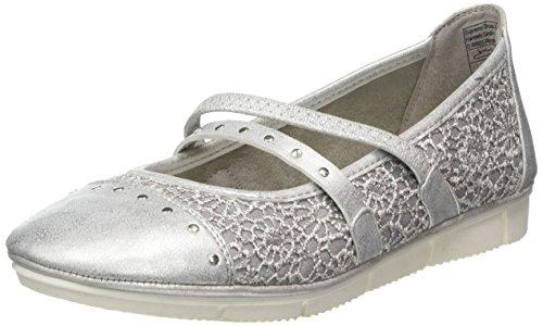Supremo Damen 4823005 Geschlossene Ballerinas, Grau (Grey), 38 EU