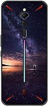 غطاء حماية يغطي الهاتف المحمول اي-سبورتس من نوبيا ريد ماجيك 3 مضاد للسقوط بتصميم سماء مرصعة بالنجوم