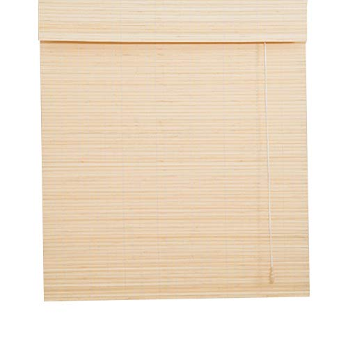 Bambusrollos - Retro Roma Rollos - Sonnenschutz mit Volant, Innen- / Außenbereich, Breite 50-140 cm, Höhe 100-260 cm (Size : 140×260cm)