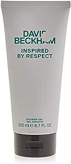 DAVID BECKHAM Inspired By Respect Shower Gel Body Wash for Men, 200 ml