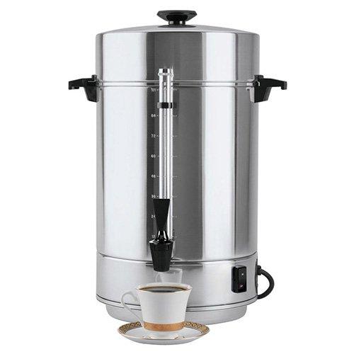 Regal Ware 58101R Regal Ware 58101R - Commercial Coffee Urn, 101 Cup Capacity, Aluminium