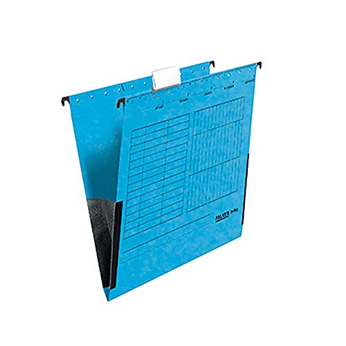 FALKEN Hängetasche blau A4 Leinenfrosch Karton 25 Taschen - Bürokleinmaterial, 80002561