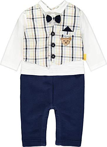 Steiff Baby Jungen festlicher Strampler Special Day 4115 (80)