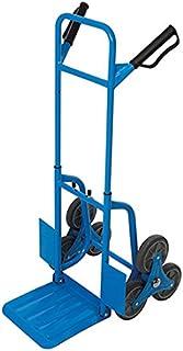 comprar comparacion Silverline 736265 Carretilla de transporte para escaleras, Azul
