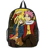 Zjcpow Bolsa de Fairy Tail Anime Bookbag Mochila Racksack Hombro del Bolso de Escuela xuwuhz