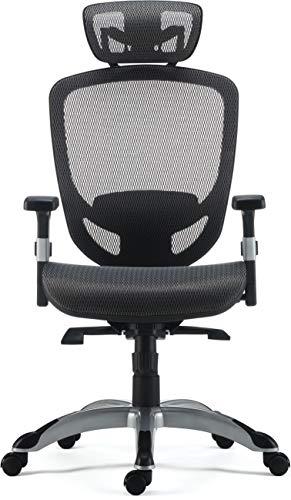 Staples 24328579 Hyken Technical Mesh Task Chair Charcoal Gray