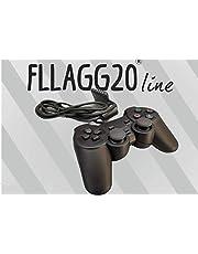 Controller compatibile Ps2 /Ps1 con Filo joystick Playstation 2 Joypad Playstation 1 compatibile con tutti i Giochi