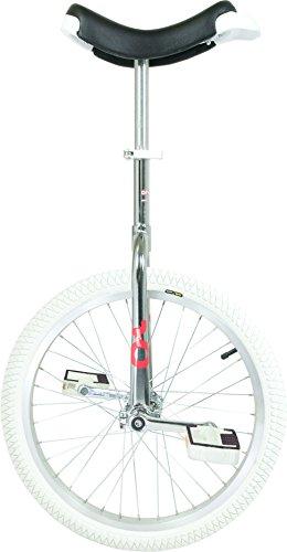 QU-AX Unisex– Erwachsene Einrad-3095031600 Einrad, Weiß, One Size
