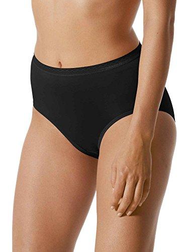 Mey Basics Serie Lights Basic Damen Taillenslips/ - Pants Schwarz M(40)