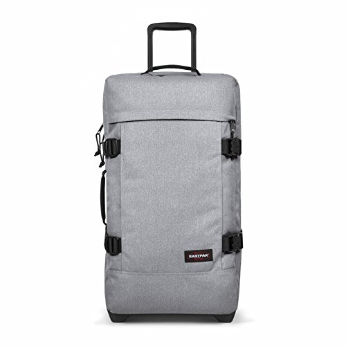 Eastpak Tranverz M Wheeled Luggage - 78 L, Sunday Grey