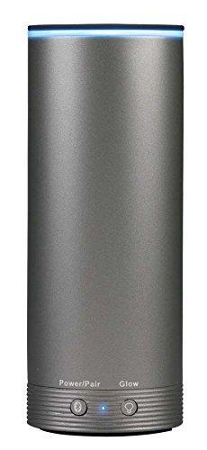808 Audio NRG GLO Portable Bluetooth Speaker with Light-Ring - Gun-Metal Gray