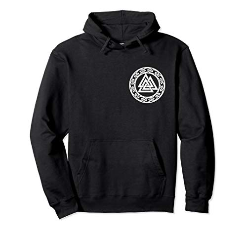 Valknut, Odin, Wikinger Symbol, Pagan Nordisch Germanisch, Pullover Hoodie