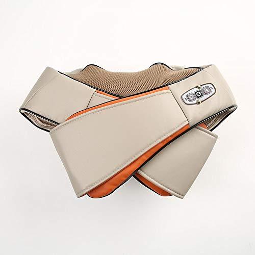 Cenocco Beauty CC-9042 - Masajeador intensivo para cuello, hombros, brazos y cuerpo, ABS, piel sintética y malla, color beige/naranja, 10 unidades por caja