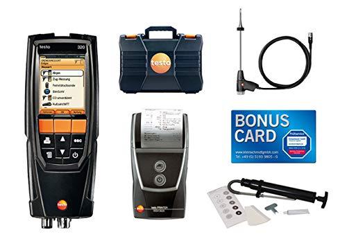 Set testo 320 basic Sonderedition ÖL mit Kleinschmidt GmbH BONUS CARD - 0563 3223 70 Öl