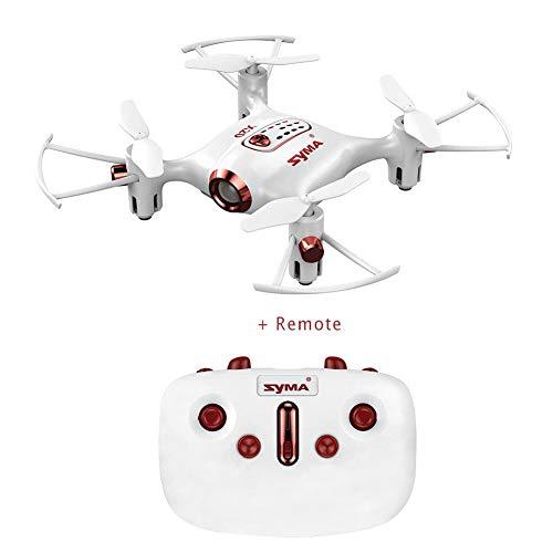 Syma Drone x20-Bianco 2.4 GHz Mini Micro RC Drone, Bianco