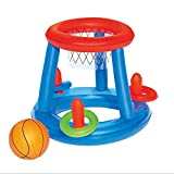 002-fr3 Water Basketball Hoop Pool Float Inflatable Swimming Pool Toy for Children Multicolor