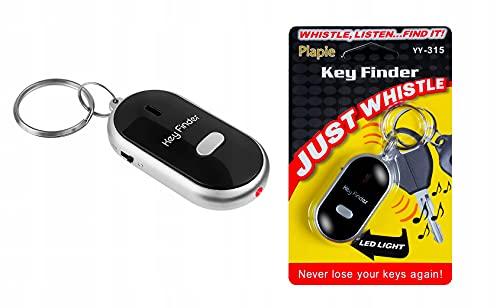 ISO TRADE Keyfinder Pfeifen Blink Schlüssel Anhänger Schlüsselfinder Pipton #1737