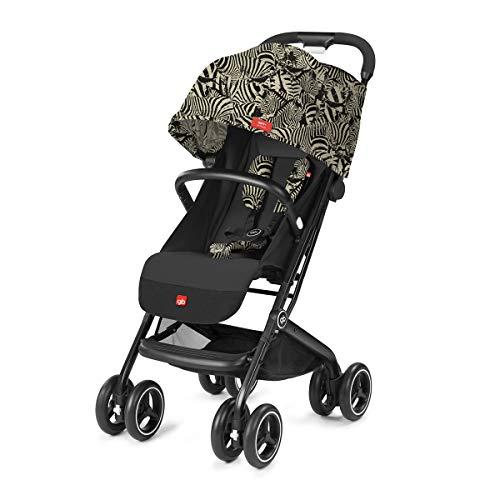 gb Gold Buggy Qbit+ All Terrain Zebra Fashion Edition, 3-in-1 Reisesystem, Ab Geburt bis 15 kg (ca. 4 Jahre), Desert Night