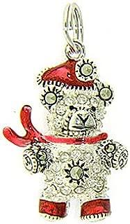 Christmas Teddy Bear Charm