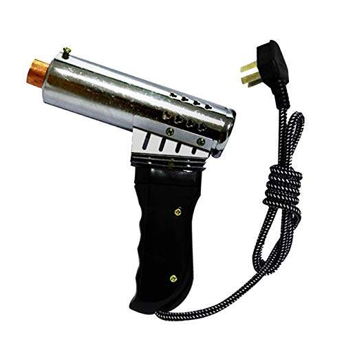 Dispositif de chauffage pour animaux de compagnie 1PCS Supprimer les bovins Corne de type carabine à air comprimé machine rapide Chauffage électrique Cuivre Tête Bloodless Supprimer Bovins Ovins Corne