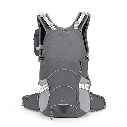 YALIXI Cycling Backpacks, 20 Liters Outdoor Lightweight Bicycle Riding Sports Waterproof Men's And Women's Backpack,gray