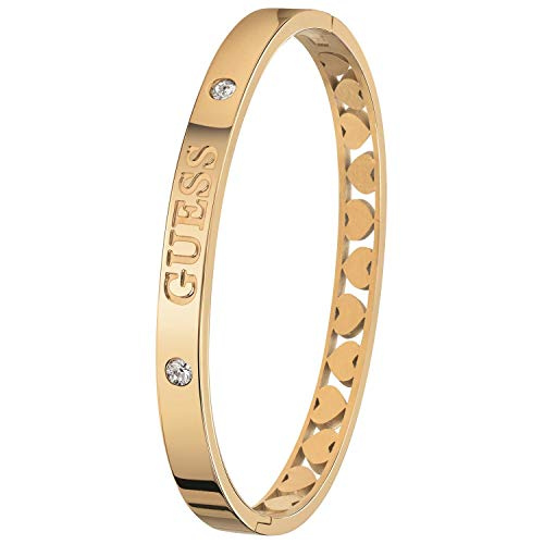 Guess - Bangle-Armreif aus Edelstahl vergoldet Heart