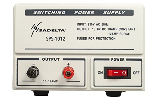 sadelta sps-1012Schaltnetzteil 13,8Volt. 10A 12Ampere Telekommunikation