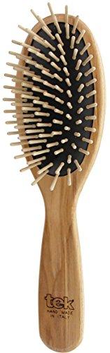 Tek 152003 ovale Haarbürste mit kurzen Pins, 1 Stück