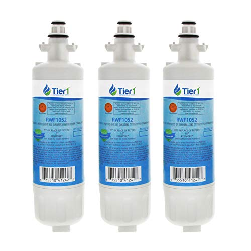 Tier1 Replacement for LG LT700P, ADQ36006101, ADQ36006102, Kenmore 46-9690, 469690 Refrigerator Water Filter 3 Pack