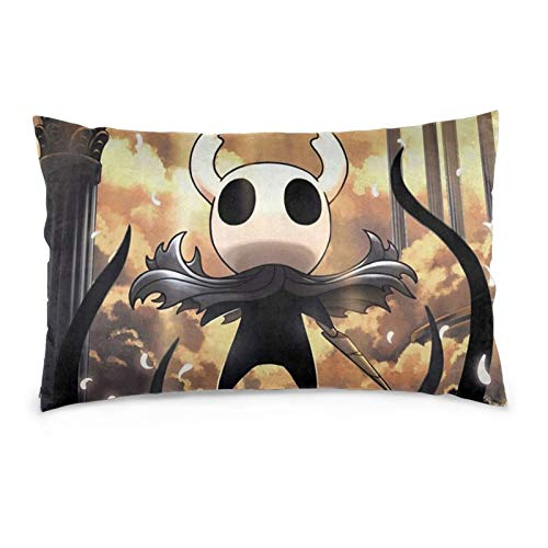 JimmyMilly Hollow Knight Gods Glory Set Cushion Case Rectangular Pillow Covers for Chair Home Decor Cushion Case 16' x24