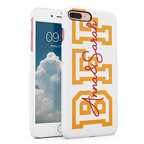 Personalizado Funda Protectora de Plástico Duro, para iPhone 7 Plus / 8 Plus Custom Name Initial Customized Text Create Your Own Matching Case...