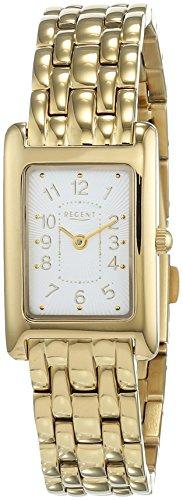 REGENT Damen Analog Quarz Uhr mit Edelstahl Armband 12210961