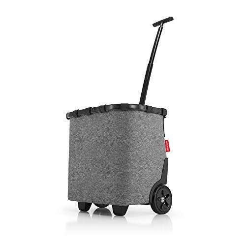 Reisenthel carrycruiser Frame Twist Silver Koffer, 48 cm, 40L, Twist Silver