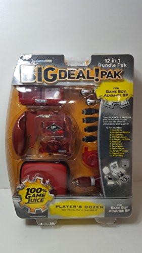 DREAMGEAR GBA SP Big Deal 12-in-...