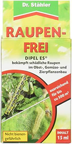 Dr. Stähler 041011 Raupenfrei, gegen Raupen an Obst- und Gemüsepflanzen (biologisch)