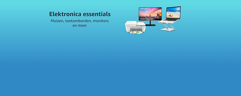 Elektronica essentials: Muizen, toetsenborden, monitors en meer