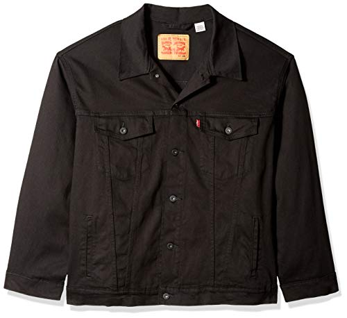 Levi's Men's Big Trucker Jacket, larimar/way stretch, 3XL