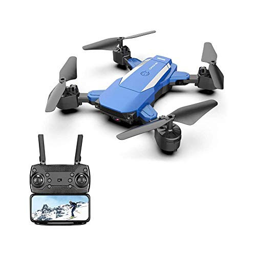 LKNJLL Drone with 720P HD Camera,Wide-Angle Live Video RC Quadcopter with Altitude Hold,Gravity Sensor Function,Recording Video Remote Control Aircraft,Flight 20 Minutes,Best Drone for Beginners