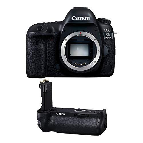 Corpo Canon EOS 5D Mark IV DSLR – com cabo de bateria Canon BG-E20