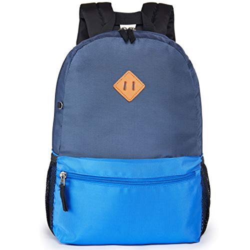 HawLander Kids Backpack Children's School Bags for Boys Fits 3 to 6 Year Old with Chest Strap Navy Blue02
