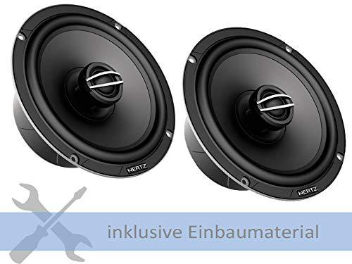 Hertz Lautsprecher CPX165 570W 165mm 2Weg Koax für Opel Meriva A X01 2003-2010 Einbauort: Türen vorne