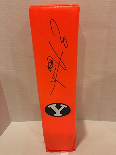 Golden Richards NCAA BYU Cougars Hand Signed Mini Helmet