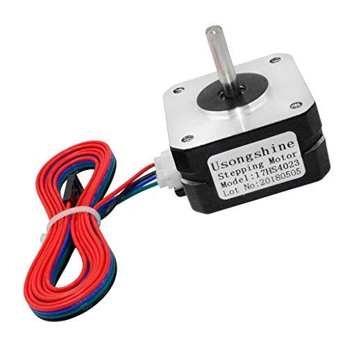 Gazechimp Controlador CNC del Controlador De Motores Paso A Paso, para Motores Paso A Paso 17 Patrón - Torque Alto, Controladores De Velocidad del Motor con Cab