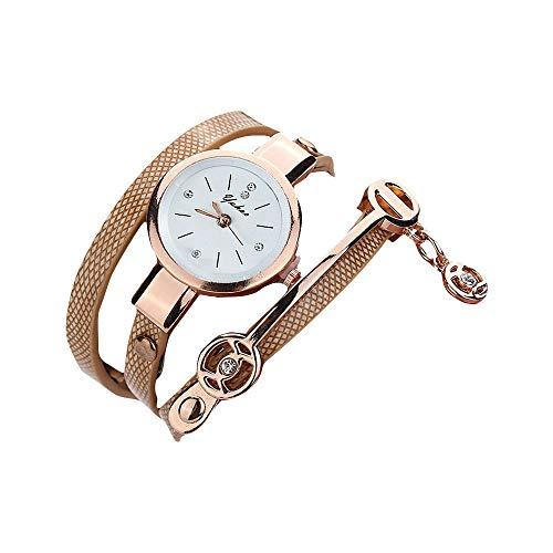 Uhren Damen Armbanduhr Geneva Mode Leisure Sportuhr Analog Leather Quartz Wrist Watch Watches Uhrenarmband Watch ABsoar